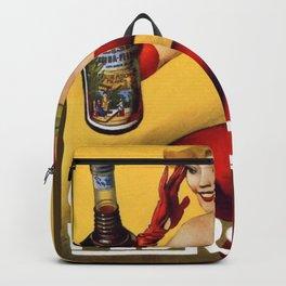 Vintage China Pedroni Advertising Wall Art Backpack