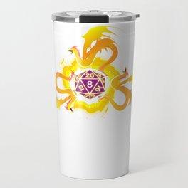 Gamer Dragon Dice RPG DND Kingdom Gift Travel Mug