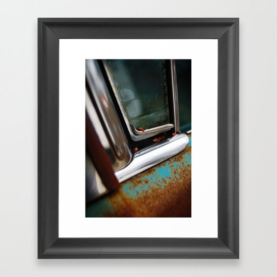 Fast objects of our youth Framed Art Print