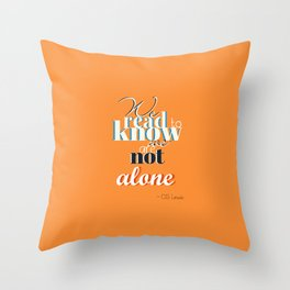 CS Lewis - Read Throw Pillow