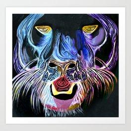 Fantasy Panther Art Print