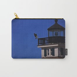 The Osprey and the Lighthouse II Carry-All Pouch
