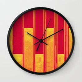 We All Bleed on the Inside Wall Clock