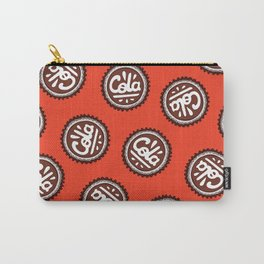 Cola Bottle Top Pattern Carry-All Pouch