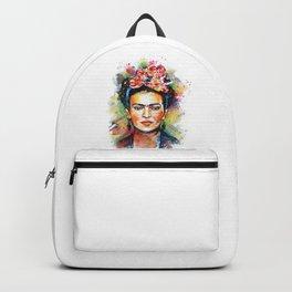 Frida Kahlo Portrait Backpack