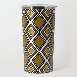 African print style Travel Mug