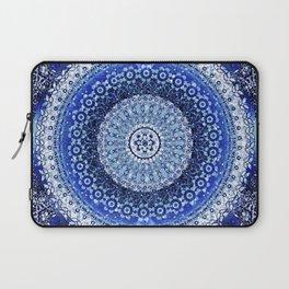 Cobalt Tapestry Mandala Laptop Sleeve