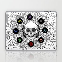 Side Effects Inverted Cover Art Laptop & iPad Skin