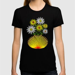 String Art Flowers T-shirt
