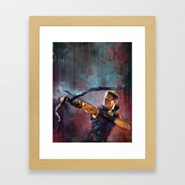 Clint Barton Framed Art Print