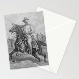 Colonel Theodore Roosevelt On Horseback Stationery Cards