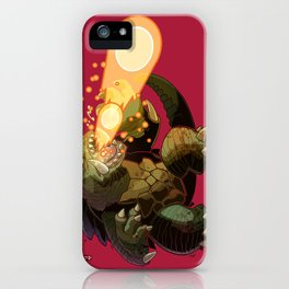 Gamera iPhone Case