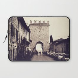 Medieval Gate of Assisi Laptop Sleeve