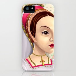 Catherine Howard, Katherine Howard, British Royalty, Monarch iPhone Case