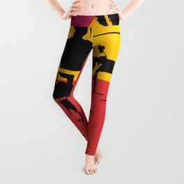 California Summer Surf from The Endless Waves Leggings
