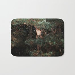 The Eyes of the Forest Bath Mat