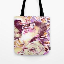 Leonardo Dicaprio x pink Tote Bag