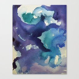 I dream in watercolor B Canvas Print