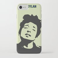 bob dylan iPhone & iPod Cases featuring Bob Dylan by trialposters