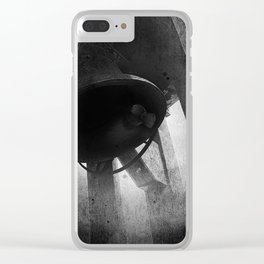 Siege Bell In Valletta Clear iPhone Case
