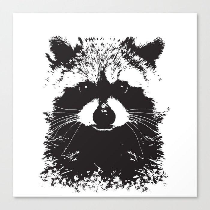 Trash Panda Leinwanddruck