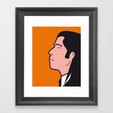 Pop Icon - Vince Framed Art Print