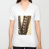 into the wild V-neck T-shirts featuring Wild by Charlene McCoy