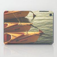 boats iPad Cases featuring Boats by Sharon RG Photography