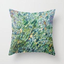 Ocean Life Abstract Throw Pillow
