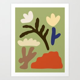Forage 1 Art Print