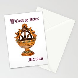 Majolica Incense Burner - Casa de Artes Stationery Cards