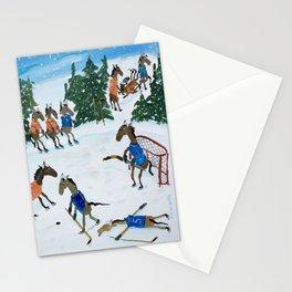 Horse Hockey! Stationery Cards
