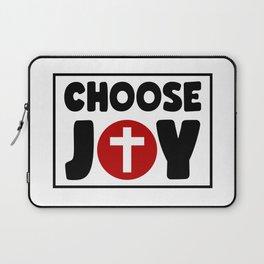 Choose Joy Laptop Sleeve