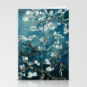 Van Gogh Almond Blossoms : Dark Teal by purelove