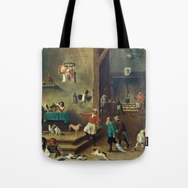 The Kitchen by David Teniers the Younger Tote Bag