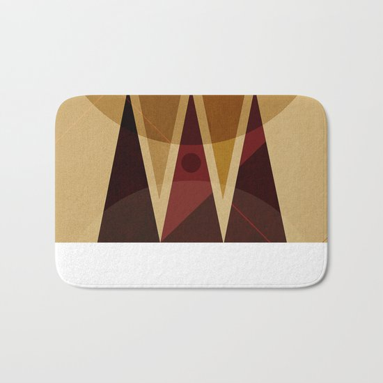 Geometric/Abstract 13 Bath Mat