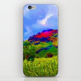 """Kauai's Landscape #1"" with Poem iPhone Skin"