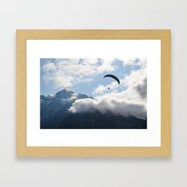 Jungfrau Glider Framed Art Print