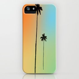 Dos Palmas iPhone Case