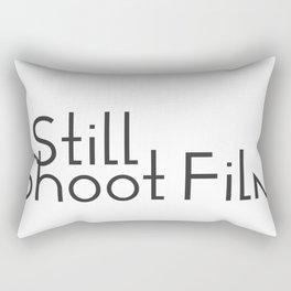 I Still Shoot Film! Rectangular Pillow
