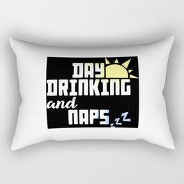 Day Drinking & Naps Rectangular Pillow