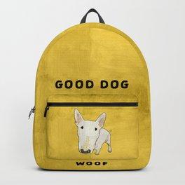 English Bull Terrier pop art Backpack