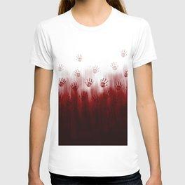 Terror Blood Hands T-shirt
