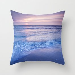Shore Ruffles Throw Pillow