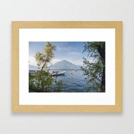 Atitlan Lake Framed Art Print