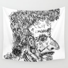Captain scribble Wall Tapestry