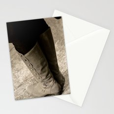 A Lady's Boots Stationery Cards