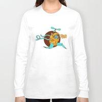 run Long Sleeve T-shirts featuring run by pingraphic