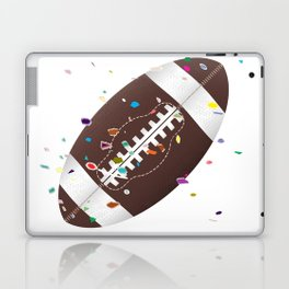 American Football Confetti Laptop & iPad Skin