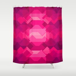 Gemstone - Ruby Shower Curtain